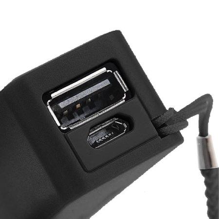 Intempo Power Bank 1800 mAh Portable Charger - Black