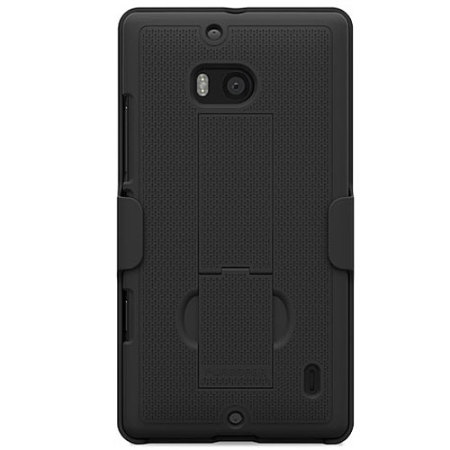 PureGear Kickstand Case with Holster for Nokia Lumia Icon - Black