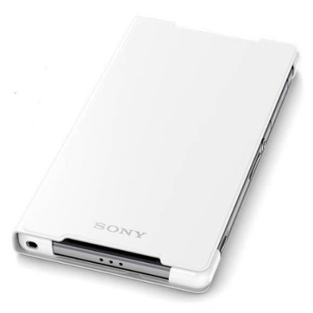 Official Sony Style Cover Stand Case for Xperia Z2 - White
