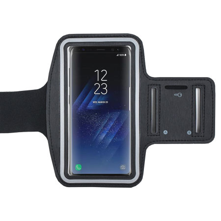 Olixar Adjustable Running & Fitness Armband Holder for Smartphones