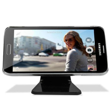 Micro-suctie smartphone houder - Zwart