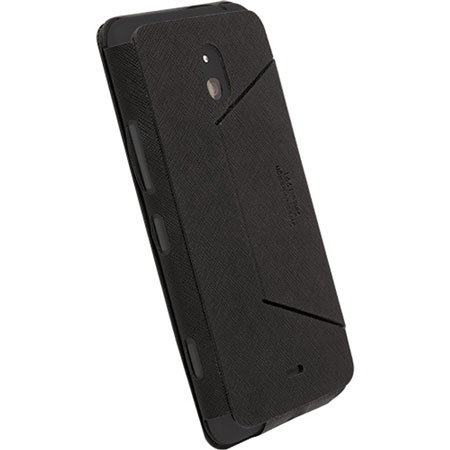 low priced c7baa a5975 Krusell Malmo Flip Cover for Nokia Lumia 1320 - Black