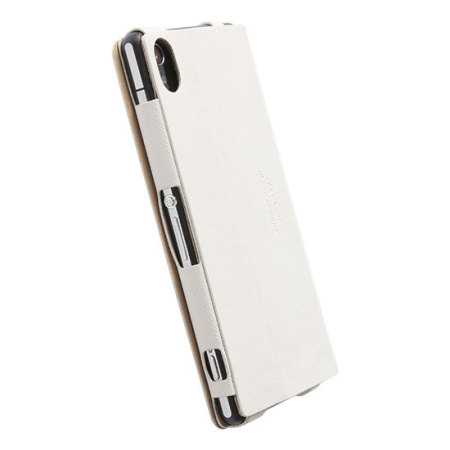 reputable site d005b 7ae0c Krusell Malmo FlipCover Case for Sony Xperia Z2 - White