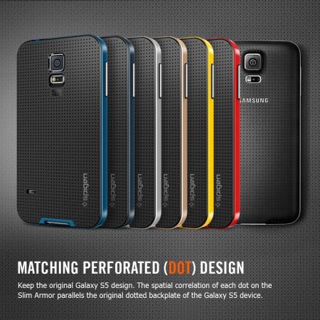 premium selection 2aef9 73daf Spigen SGP Neo Hybrid Case for Samsung Galaxy S5 - Silver