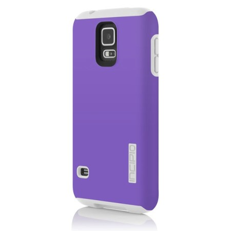 Incipio DualPro Case for Samsung Galaxy S5 - Purple / White