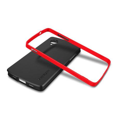 Spigen SGP Neo Hybrid for Google Nexus 5 - Fluorescent Red