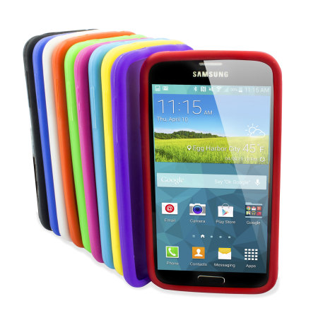 san francisco 8cbbb 873a5 10-in-1 Silicone Case Pack for Samsung Galaxy S5