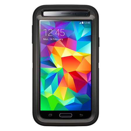 OtterBox Defender Series Samsung Galaxy S5 Protective Case - Black