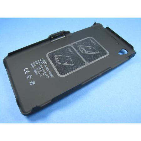 Mugen Sony Xperia Z1 Extended Battery Case 3000mAh - Black