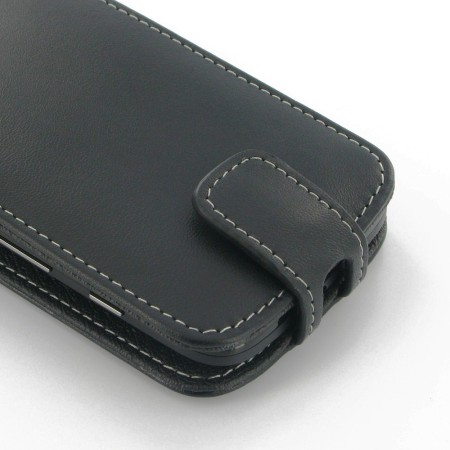 PDair Leather Flip Top Type Motorola Moto G Case - Black