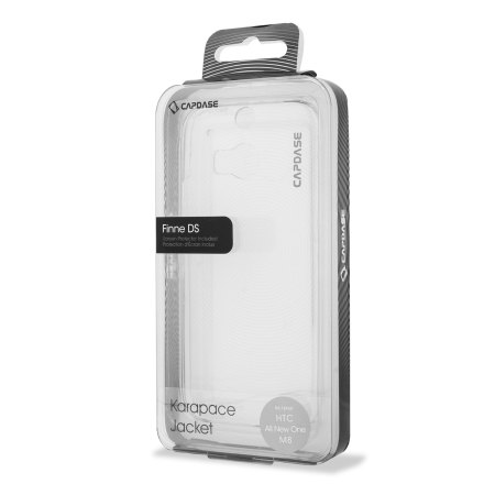 Capdase Karapace Jacket HTC One M8 - Clear