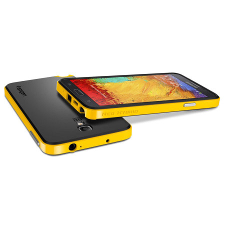 huge selection of 95c10 6a505 Spigen Neo Hybrid Samsung Galaxy Note 3 Neo Case - Yellow