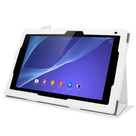 Smart Stand and Type Sony Xperia Tablet Z2 Case - White