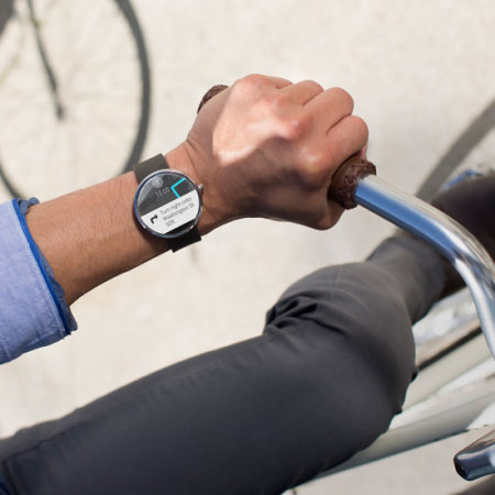 motorola smartwatch. motorola moto 360 smartwatch - silver / white metal smartwatch