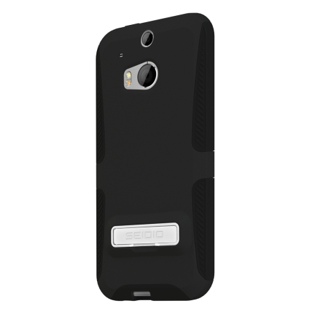 Seidio DILEX HTC One M8 Case with Kickstand and Holster  - Black