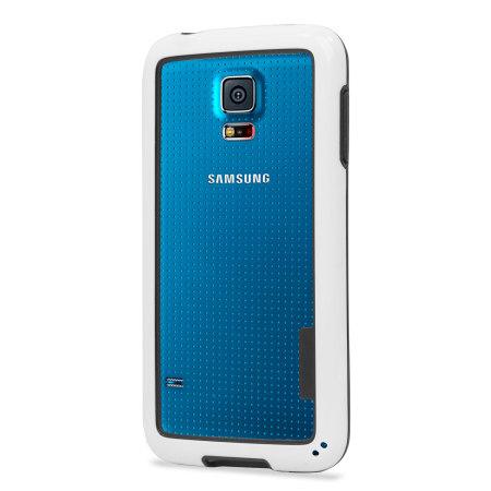 best sneakers 5405d a31f5 Flexiframe Samsung Galaxy S5 Bumper Case - White