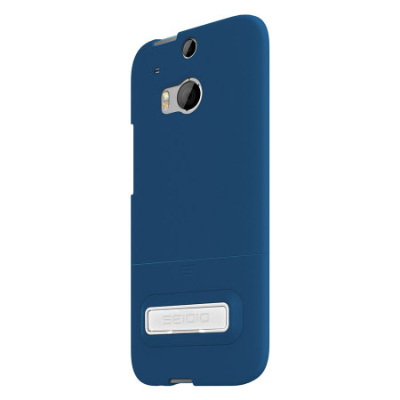 Seidio SURFACE HTC One M8 Case with Metal Kickstand - Royal Blue