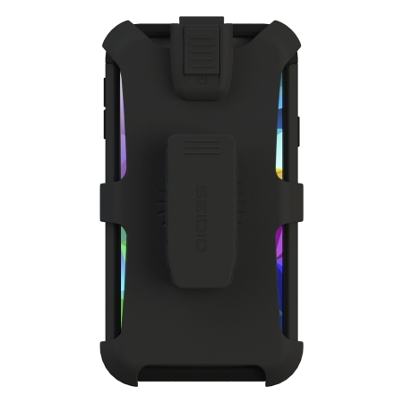 Seidio CONVERT Samsung Galaxy S5 Case with Stand and Holster - Black