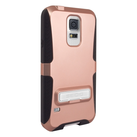 premium selection 39510 bd5fd Seidio DILEX Samsung Galaxy S5 Case with Kickstand - Rose Gold
