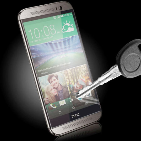 akm olixar htc one m8 tempered glass screen protector angles are