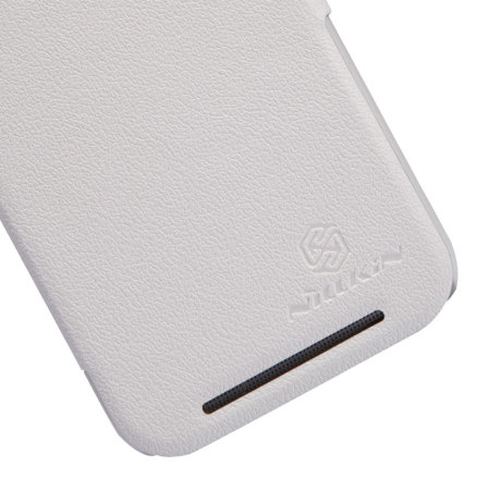 Nillkin Fresh Leather-Style HTC One M8 View Case - White