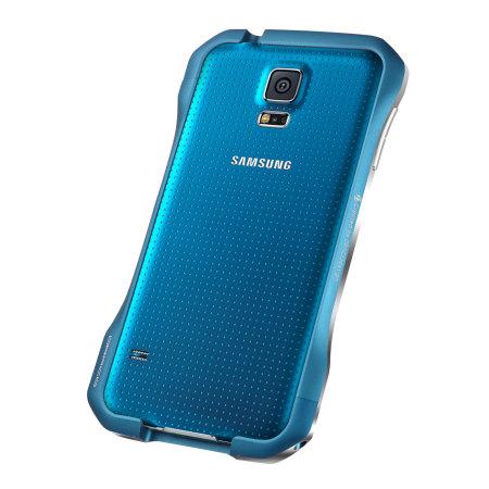 Draco Galaxy S5 Supernova S5 Aluminium Bumper - Electric Blue