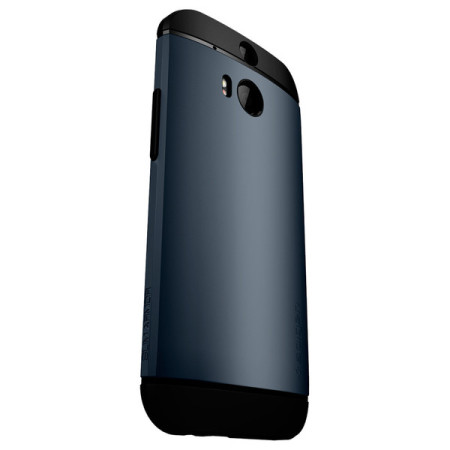 Spigen Slim Armor HTC One M8 Case - Gun Metal