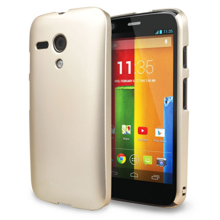 Rearth Ringke Moto G Slim Case - Royal Gold