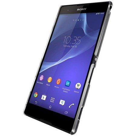 Metal-Slim Protective Case for Sony Xperia T2 Ultra - Clear