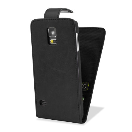adarga leather style galaxy s5 wallet flip case black debut the delightful