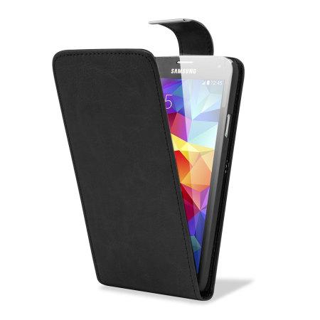 adarga leather style galaxy s5 wallet flip case black Meraki
