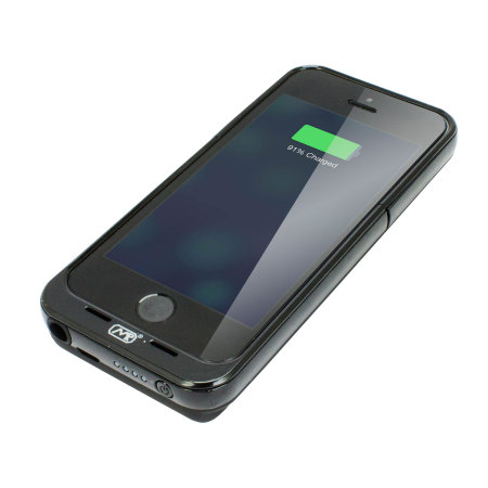 competitive price c3a48 f5166 Mugen iPhone 5S / 5 Qi Extended Battery Case 3150mAh - Black