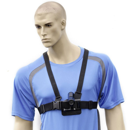 Arkon Chest Strap for GoPro HERO & Small Action Cameras
