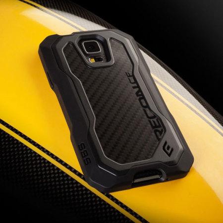 watch ce357 3b684 ElementCase Recon CF Samsung Galaxy S5 Case - Stealth Black