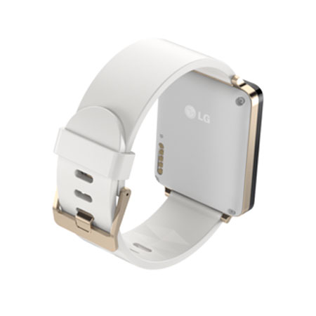 LG G Watch - Or / Blanche