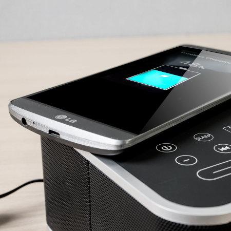 olixar qi tone s1 alarm clock bluetooth speaker with qi charging. Black Bedroom Furniture Sets. Home Design Ideas
