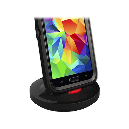 Rugged Case Compatible Galaxy S5 USB 3.0 Charging Dock - Black