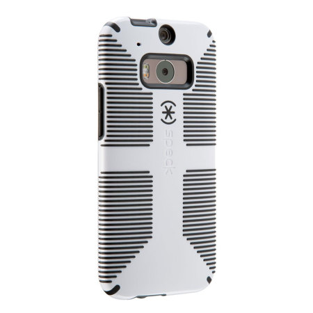 Speck CandyShell Grip HTC One M8 Case - White