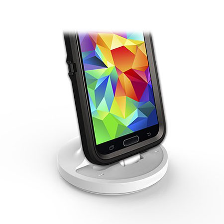 Rugged Case Compatible Galaxy S5 USB 3.0 Charging Dock - White