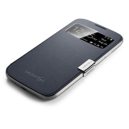 Spigen Magnetic Clip for Official Galaxy S4 S View Cover - Silver