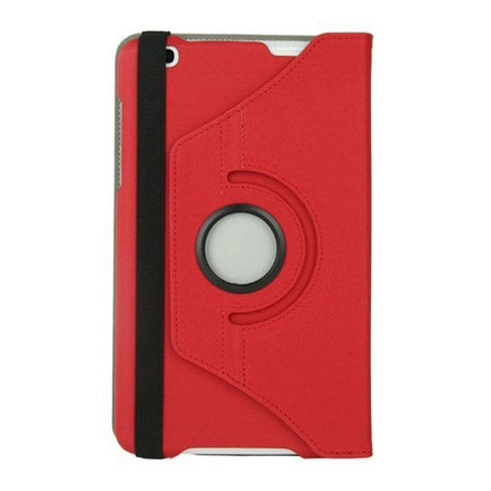 Rotating LG G Pad 8.3 Stand Case - Red