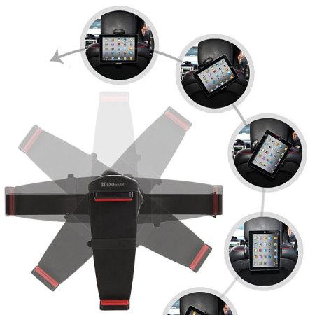 Support voiture Universel appui-tête Exogear ExoMount pour tablette