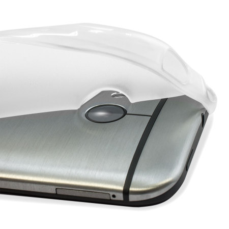 FlexiShield HTC One Mini 2 Gel Case - Frost White