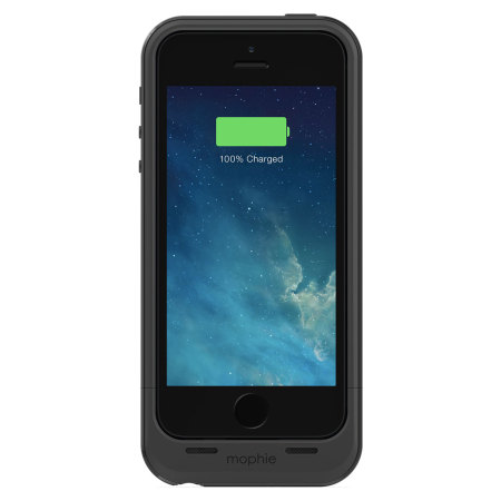 best website c1bc2 b157e Mophie iPhone 5S / 5 Juice Pack Plus - Black