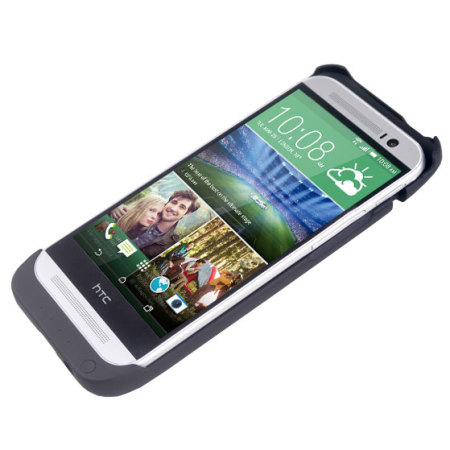 HTC One M8 Power Jacket Case 3200mAh - Black