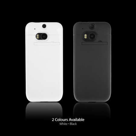HTC One M8 Power Jacket Case 3200mAh - White