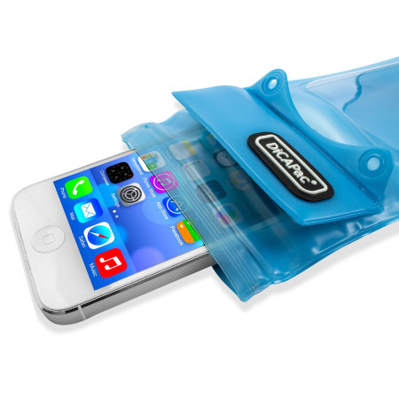 "DiCAPac Universal Waterproof Case for Smartphones up to 4.8"" - Blue"