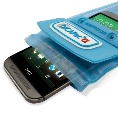 DiCAPac Universal Waterproof Case for Smartphones - Blue