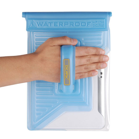 "DiCAPac Universal Waterproof Case for Tablets up to 10.1"" - Blue"