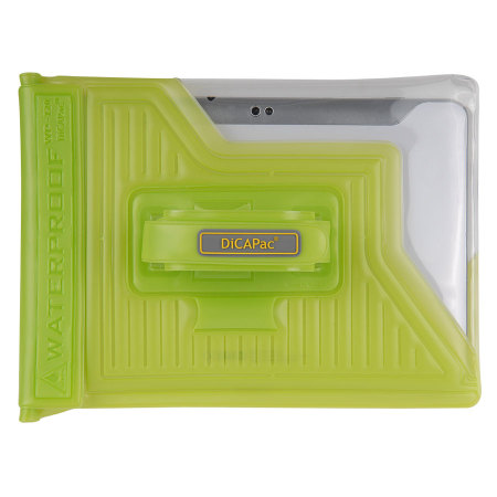 "DiCAPac Universal Waterproof Case for Tablets up to 10.1"" - Green"